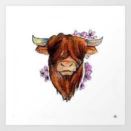 Chinese Zodiac: Ox Art Print