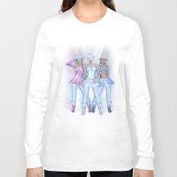 manga Long Sleeve T-shirts featuring Manga Girls by Illu-Pic-A.T.Art