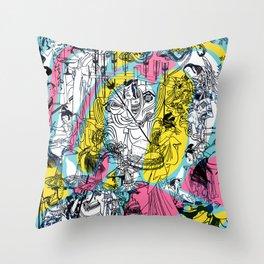 Genji Monogatari 2 Throw Pillow