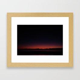 Dawn On  New Day Framed Art Print