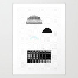 Geometric Calendar - Day 19 Art Print