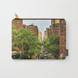 10th Ave and W 26th St New York City Carry-All Pouch