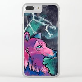 Constellation Ursa Major Clear iPhone Case