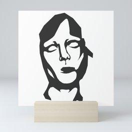abstract art - void delight Mini Art Print