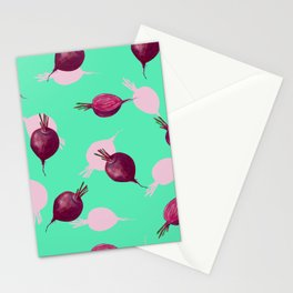 Beet Stationery Cards