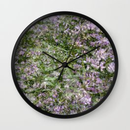 Clover Exposures Wall Clock