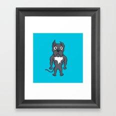 Bluie Framed Art Print