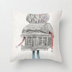 Gustaf. Throw Pillow