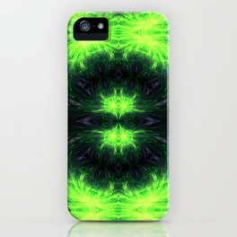 Psychedelic geometry pattern (Acid session vol.1) iPhone Case