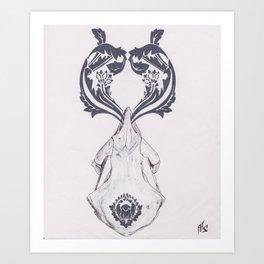 Stamped Art Print