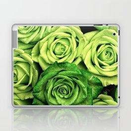 Green Roses Laptop & iPad Skin