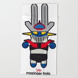 Sr. Trolo / Mazinger Beach Towel