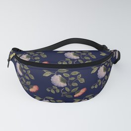 Painted Flowers on an antique ceramic vase pattern Fanny Pack