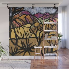 """""""A Mile Out of Alice Spings"""" Margaret Preston Wall Mural"""
