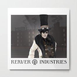 """""""Industrial"""" Metal Print"""