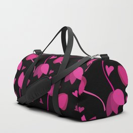 Lovely Floral Duffle Bag