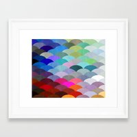 apple Framed Art Prints featuring Scales by Steven Womack