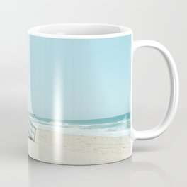 Hermosa Beach Lifeguard Tower 19 Coffee Mug