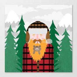Bear Beard Canvas Print