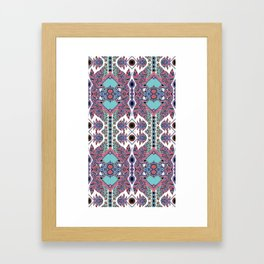 Tail Feathers Framed Art Print