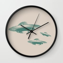 Disco Volante Wall Clock