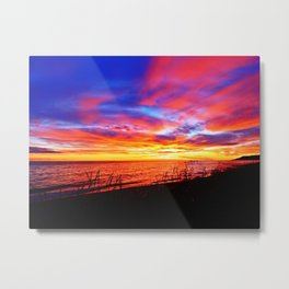 Morning Explosion of Colors Metal Print