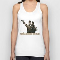 the walking dead Tank Tops featuring Walking Dead by store2u