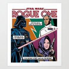 Rogue One Art Print