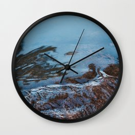 Cold Flow Wall Clock