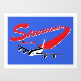Swooping Stratotanker (KC-135) Art Print