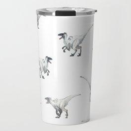 White raptors Travel Mug