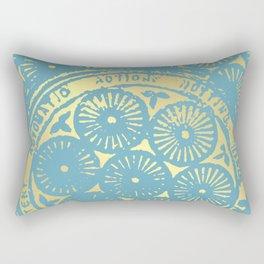 flower power of one Rectangular Pillow