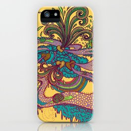 Along this winding road iPhone Case