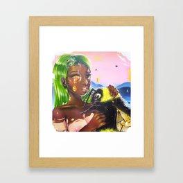 Honeycomb Dreams Framed Art Print