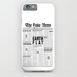 The Fake News Vol. 1, No. 1 iPhone Case