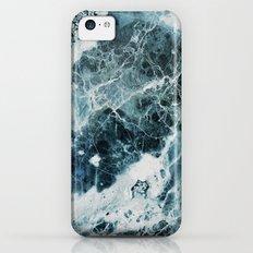 Blue Sea Marble iPhone 5c Slim Case