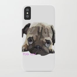 Pug Luv iPhone Case