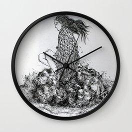 Lost Angel Wall Clock