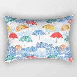 Umbrella Spring - by Kara Peters Rectangular Pillow