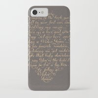 video games iPhone & iPod Cases featuring Video Games LDR Lyrics by Honey Cupcake