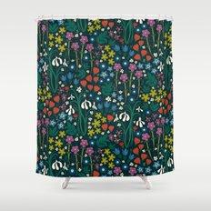 Botanical Garden Shower Curtain