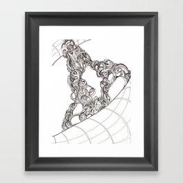 Space Station Framed Art Print