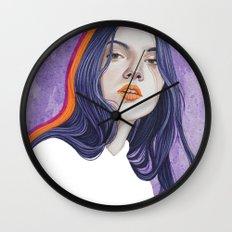 Close Up 18 Wall Clock