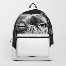 FRENCH BULLDOG FORNASETTI BLINK Backpack