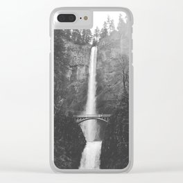 MULTNOMAH FALLS / Oregon Clear iPhone Case