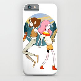 Marcy & Bonnie iPhone Case