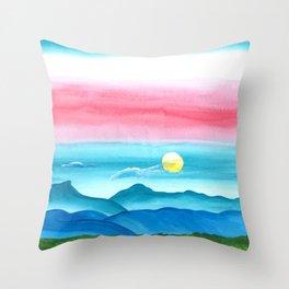 Autumn Moon Festival Throw Pillow