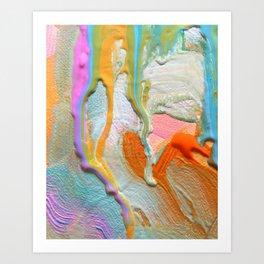 Wandering Free Art Print