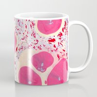 eggs Mugs featuring Eggs by Debbie Chessell