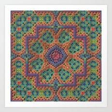 Intricate Pattern Art Print